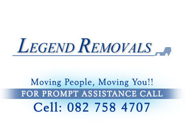 Legend Removals - Legend Furniture Removals is a family owned  furniture removals company based in Pretoria, specialising in household removals, furniture transportation, office removals and relocation services. Our friendly staff are trained.